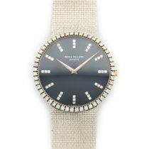 Patek Philippe White Gold Diamond Watch Ref. 3588
