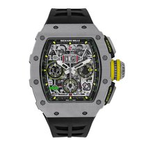 Richard Mille Automatic Flyback Chronograph Titanium Watch...