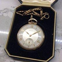 Longines 1941 Longines 14K Presentation Pocket Watch with chain