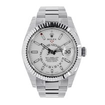 Rolex Sky-Dweller 42mm Stainless Steel White Dial 326934