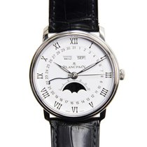 Blancpain Villeret Stainless Steel White Automatic 6654-1127-55B