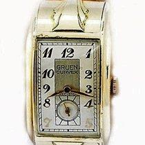 Gruen Handaufzug 1935 gebraucht Curvex