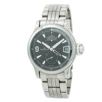 Jaeger-LeCoultre Master Compressor GMT Steel 41mm Black No numerals United States of America, New York, New York