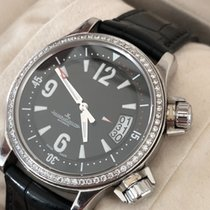Jaeger-LeCoultre Master Compressor Lady Automatic Acero 37mm Negro Árabes