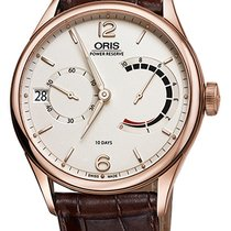 Oris Rose gold Manual winding White new Artelier Calibre 111