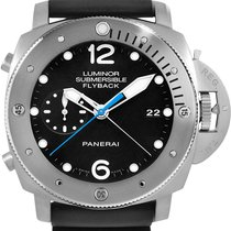 Panerai Luminor Submersible 1950 3 Days Automatic Titanium 47mm Black Arabic numerals United States of America, New York, New York