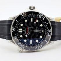 Omega 210.32.42.20.01.001   21032422001001 Steel Seamaster Diver 300 M 42mm new