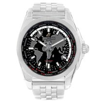 Breitling Galactic Unitime new 2016 Automatic Watch with original box and original papers WB3510U4-BD94-375A