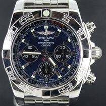 Breitling Chronographe 44mm Remontage automatique 2015 occasion Chronomat 44 Bleu