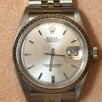 Rolex Cronometro 36mm Automatico 1964 usato Datejust (Submodel) Argento