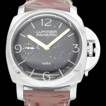 Panerai 47mm Manual winding pre-owned Special Editions Black