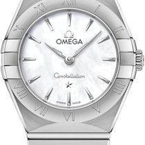Omega 131.10.25.60.05.001 Staal 2021 Constellation Quartz 25mm nieuw