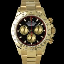 Rolex 116528 Or jaune 2015 Daytona 40mm occasion