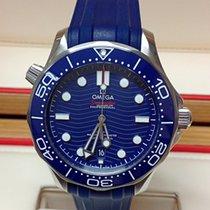 Omega Seamaster Diver 300 M 21032422003001 OMEGA Seamaster Diver 300M Blu Gomma 42mm new