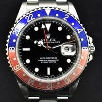 Rolex 16710 Staal 2001 GMT-Master II 40mm tweedehands