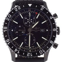 Breitling Chronoliner Steel 46mm Black United States of America, Illinois, BUFFALO GROVE