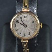 Rolex Açık kırmızı altın 23mm Elle kurmalı 5964 ikinci el