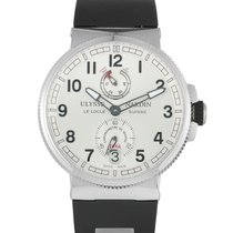 Ulysse Nardin Marine Chronometer Manufacture Steel 43mm Silver Arabic numerals United States of America, Pennsylvania, Southampton