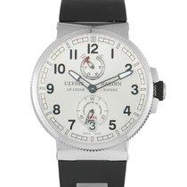 Ulysse Nardin Marine Chronometer Manufacture Steel 43mm Silver Arabic numerals