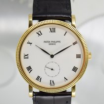 Patek Philippe Calatrava Or jaune 33mm Blanc Romain France, Cannes