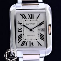 Cartier Tank Anglaise Steel Silver United States of America, New York, NEW YORK