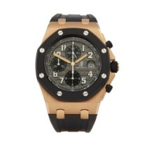 Audemars Piguet Royal Oak Offshore Chronograph Rose gold 44mm Grey Arabic numerals United Kingdom, Bishop's Stortford