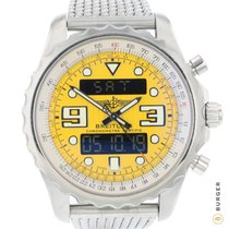 Breitling Chronospace Steel 48mm Yellow No numerals