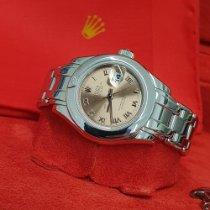 Rolex Pearlmaster Złoto białe 29mm Różowy