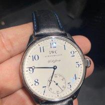 IWC Portuguese Hand-Wound Acier Blanc France, Nice