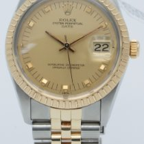 Rolex 15053 Gold/Steel 1981 Oyster Perpetual Date 34mm pre-owned United States of America, Georgia, ATLANTA