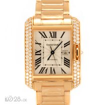 Cartier NEW -45% Cartier Tank Anglaise Large WT100003 Redgold...