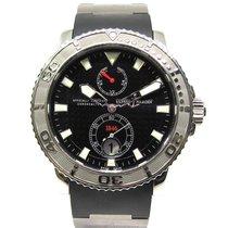 Ulysse Nardin Maxi Marine Diver Сталь 43mm Черный Без цифр