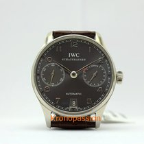 IWC Portuguese Automatic 7 Day Power Reserve,  Grey