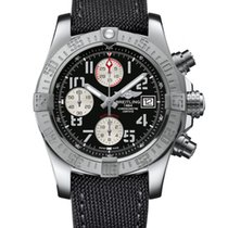 Breitling A1338111/BC33/109W, Avenger II, Blk Dial, Steel&Leather