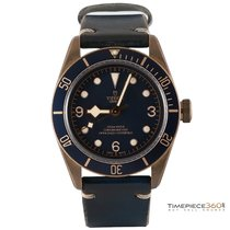 Tudor Heritage Black Bay Bronze 43mm Blue Bucherer