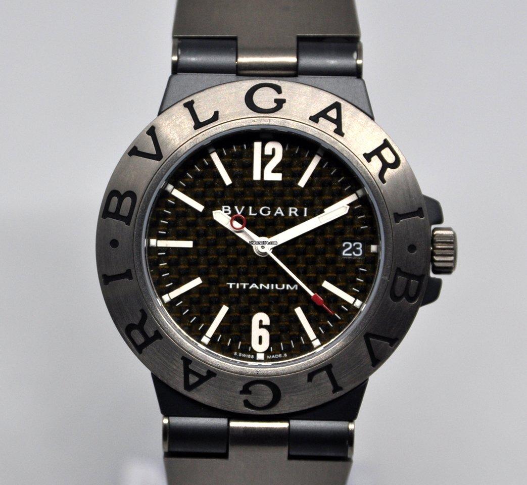 d18b25b56d3 Relojes Bulgari Titanio - Precios de todos los relojes Bulgari Titanio en  Chrono24