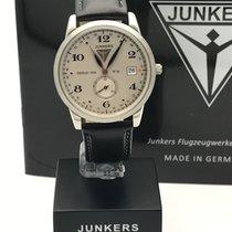 Junkers Dessau 1926 Flatline Steel 39mm Silver Arabic numerals