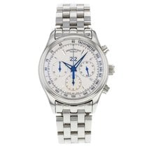 Armand Nicolet M02 Big Date White Dial Steel Automatic Mens -...