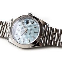 Rolex Platine Remontage automatique Bleu 40mm occasion Day-Date 40