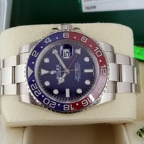 Rolex GMT-Master II White Gold Blue Dial