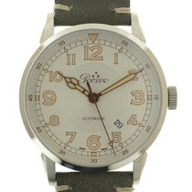Perseo Steel Automatic Silver 42mm new
