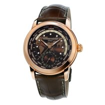 Frederique Constant Manufacture Worldtimer FC-718BRWM4H4 New Rose gold 42mm Automatic