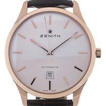 Zenith Or rose Remontage automatique Argent 40mm nouveau Port Royal