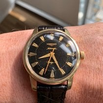 Longines 35.2mm Automatic 1956 pre-owned Conquest