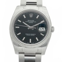 Rolex Oyster Perpetual Date new Automatic Watch with original box and original papers 115234