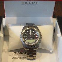 Tissot Titan Quarz Schwarz Arabisch 43mm gebraucht T-Touch Expert
