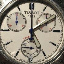 Tissot V8 brugt 40mm Hvid Kronograf Dato Stål