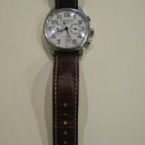 Longines Master Collection pre-owned 40mm Chronograph Date Calf skin