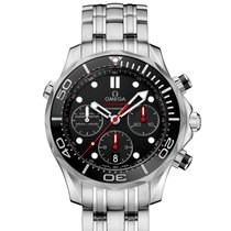 Omega Seamaster Diver 300 M Steel 41.5mm Black United States of America, New York, New York