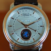 Auguste Reymond Çelik 42.8mm Otomatik AR.16N0.3.710.8 Cotton Club Moonphase Orbital – PATENTED yeni